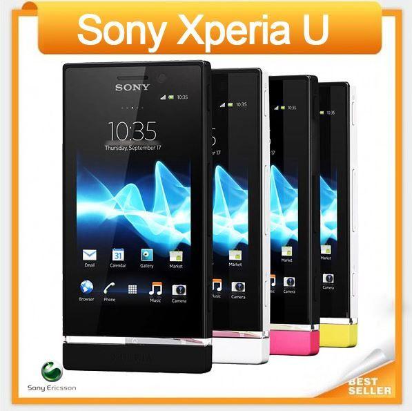 ST25 الأصل سوني إريكسون Xperia U ST25i أندرويد مفتوح الهاتف المحمول هاتف الجيل الثالث 3G GPS WIFI 5MP EMS / DHL شحن مجاني