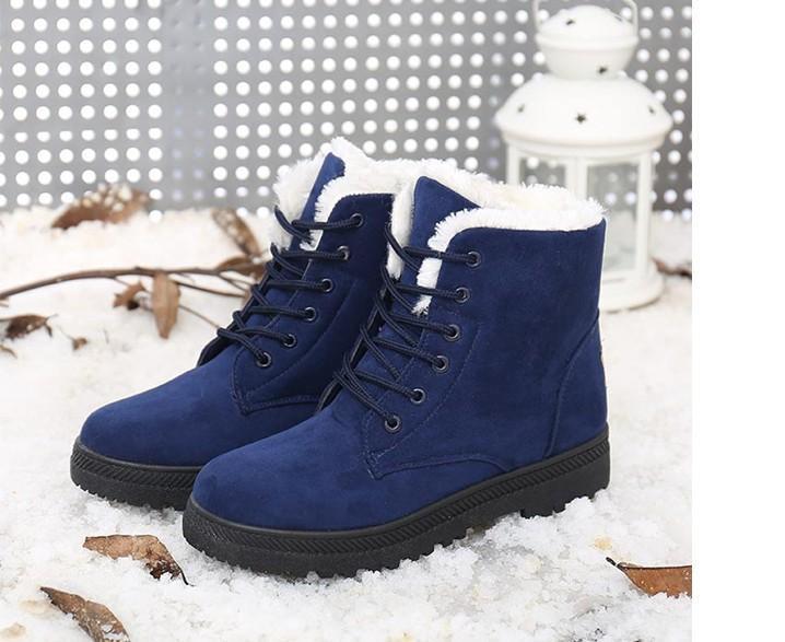 Женские сапоги Botas femininas 2016 новое прибытие женщины зимние сапоги теплый снег сапоги мода платформа ботильоны для женщин обувь
