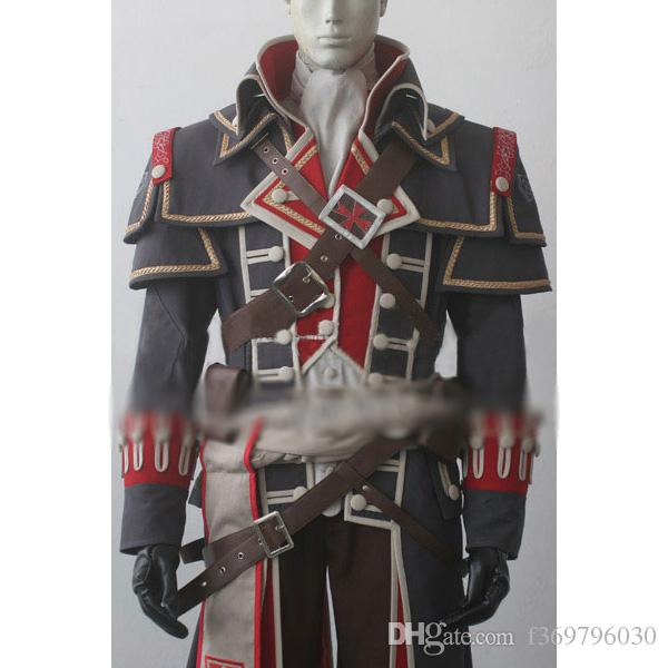 2017 New Assassins Creed 5 Rebellion Cosplay Costume Custom
