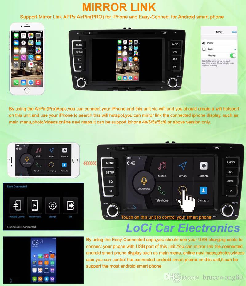 Seat-Ibiza-android-multimedia-player-system-navigation-Mirror-Link