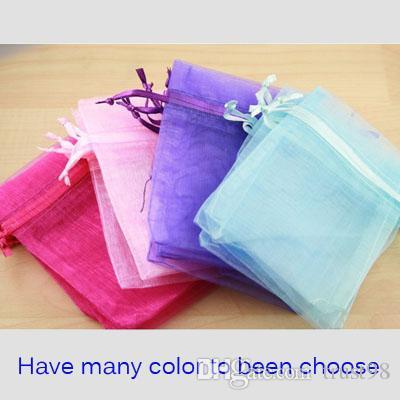Sieraden Organza Gift Bag 4in X 6in (10x15cm) Pack van 100 Travel Drawstring Pouch