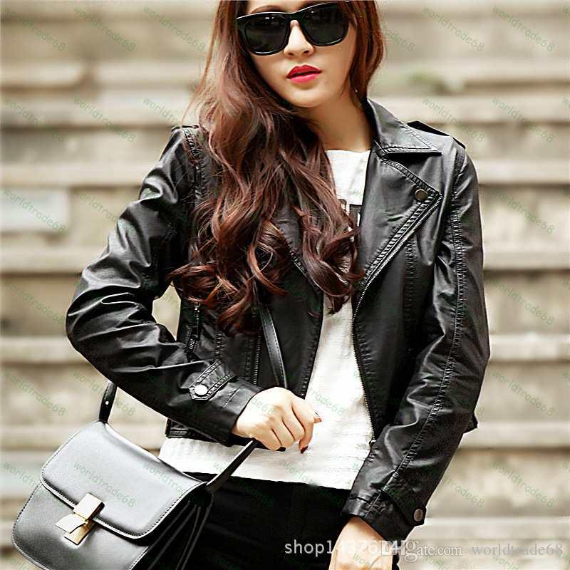 Womens short black leather jackets – New Fashion Photo Blog