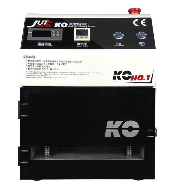 7 بوصة العالمي KO فراغ OCA الترقق آلة تغليف شاشة LCD