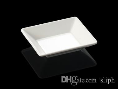 Nouvelle mode assiette de dîner en mélamine assiette carrée peu profonde chaîne restaurant avec plaque de mélamine A5 vaisselle en mélamine
