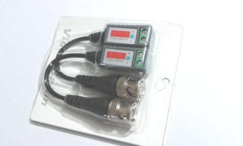 100pair الكثير فيديو Balun الملتوية السلبي جهاز الإرسال والاستقبال الدوائر التلفزيونية المغلقة UTP BNC DVR كاميرا Cat5
