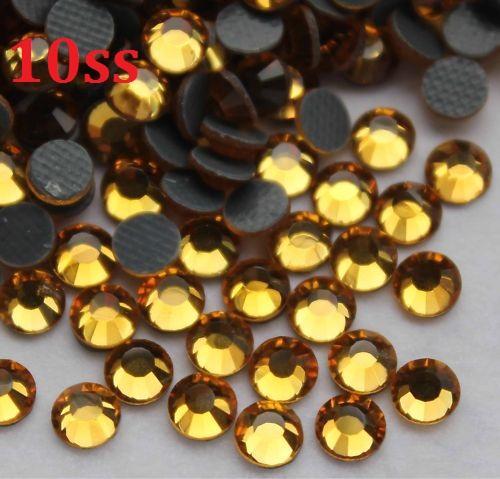 1440pcs 3mm 10gross Topza Hotfix Hot Fix Perles De Strass Pour La Couture