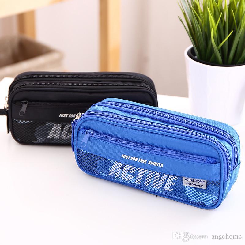 Multifunction School Pencil Case & Bags For Boys and Girls - Large Capacity Pen Box Pouch - Kids Gift Stationery Supplies