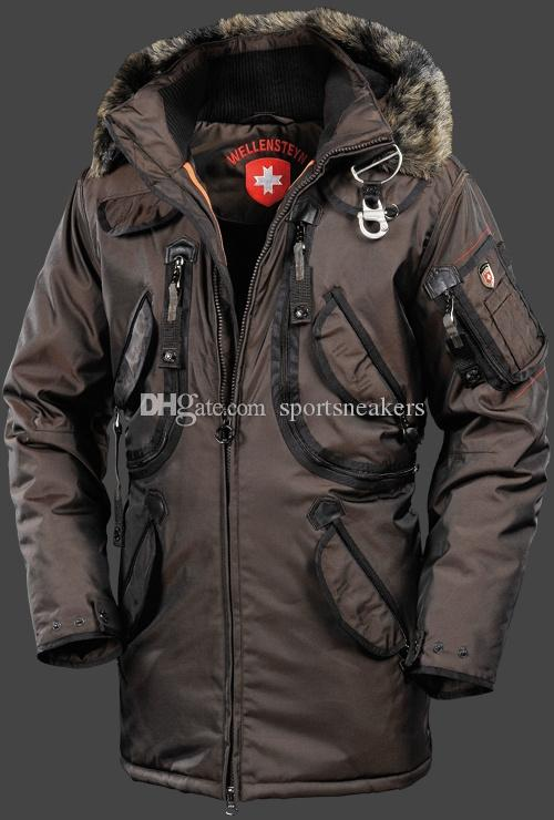 Acheter Wellensteyn Rescue Men Down Jacket Parka Longue HDDAirTec Black Jacket Couverture Abronze Wellensteyn Dans Manteaux Manteaux En Plein Air Pour
