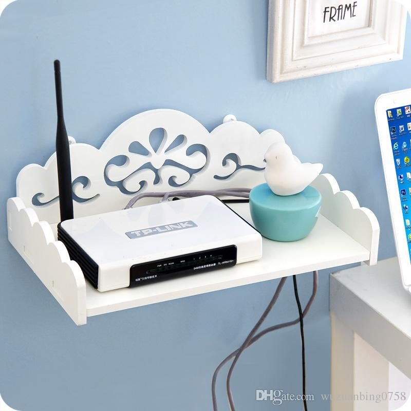 2018 Tv Set Top Routers Wooden Shelf Diy Carved Hdf Stb Remote Control  Holder Storage Box Holder Rack Organizer From Wuzuanbing0758, $12.07 |  Dhgate.Com
