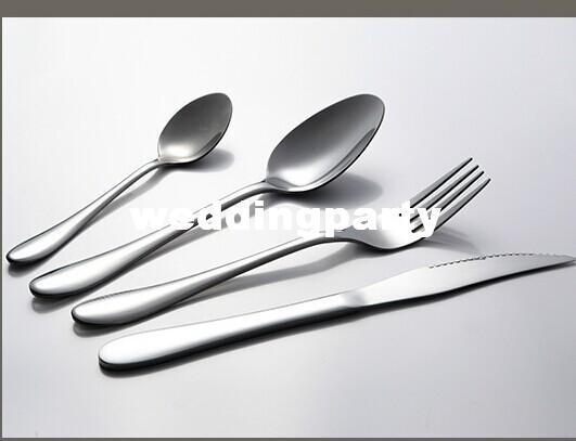 أعلى جودة الغربي مرآة مصقول الفولاذ المقاوم للصدأ أطباق / والسكاكين مجموعات / أواني الطعام سكين شوكة ملعقة عدة