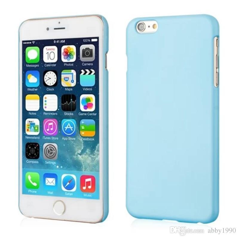 All'ingrosso per l'iPhone 6 6s caso della copertura della cassa dura glassata PC opaca per iPhone 6 6s Drop Shipping