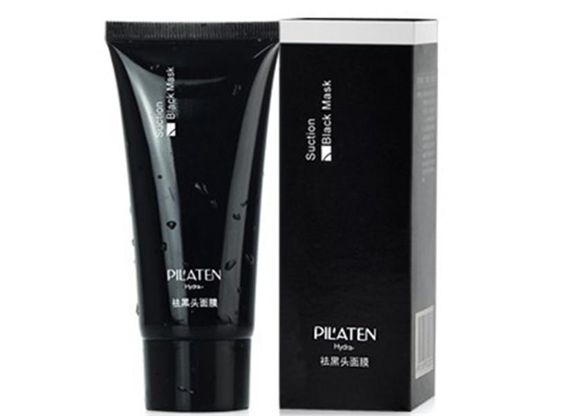 2016 hot PILATEN Blackhead Remover Deep Cleansing Purifying Peel Acne Treatment Mud Black Mud Face Mask free shipping