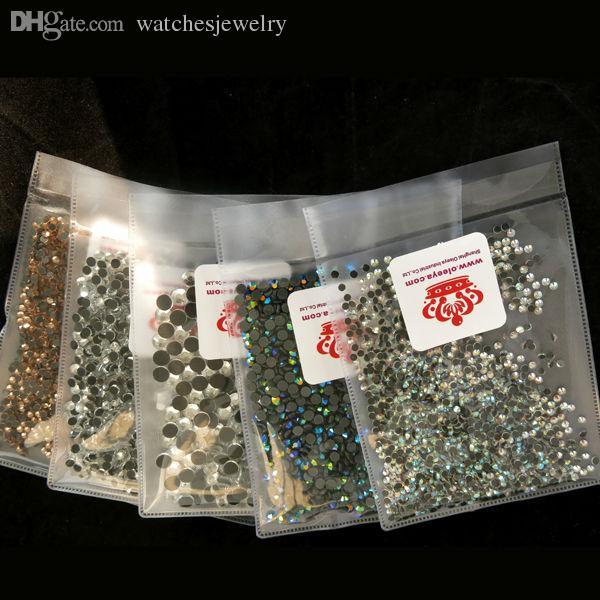 Gros-SS20 4.6-4.8mm, 1440 pcs / sac Aurum hématite or DMC Hotfix FlatBack lâche strass, pierre découpée à la machine cristaux pierres Y0192