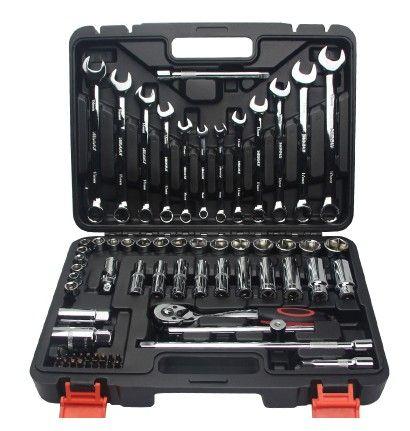 Heißer Verkaufs-Worth 69 pc Spanner Socket Set Auto-Reparatur-Werkzeug-Ratsche Set Handwerkzeuge Kombination Haushalt Tool Kit T01003 zu kaufen