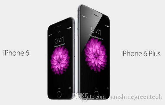 "Refurbished iPhone 6 Plus Genuine Apple iPhone Cell Phones 16G 64G IOS Rose Gold 5.5"" i6s Smartphone Wholesale China DHL free"