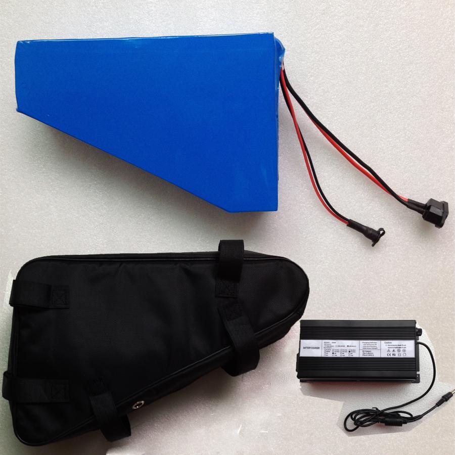 Sac gratuit Batterie Ebike 48v 30Ah 2400W Batterie de vélo électrique 48V avec batterie au lithium 48V Batterie pour Samsung 30B CELL