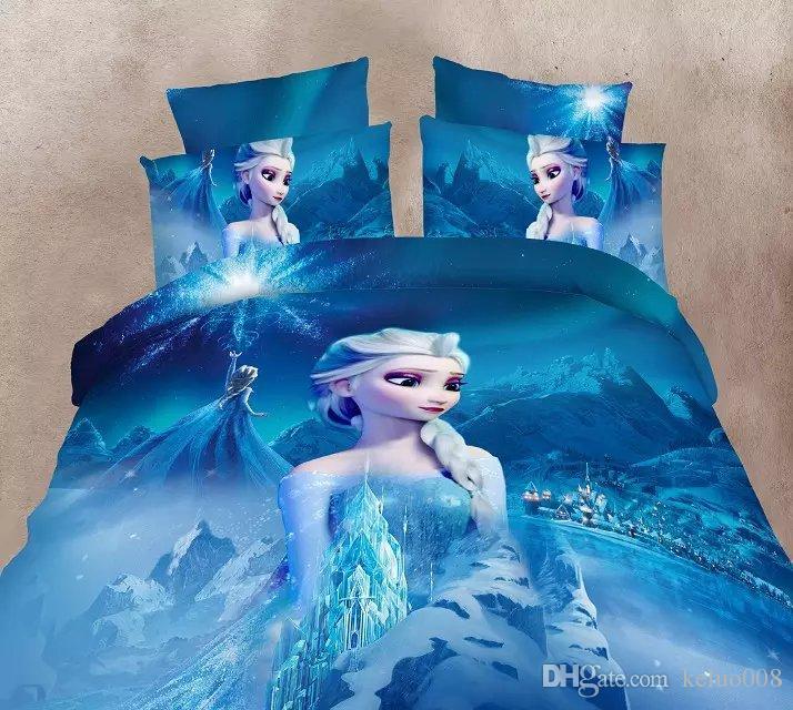 New Arrive Frozen 3d Bedding Set, Frozen Bed Set Queen
