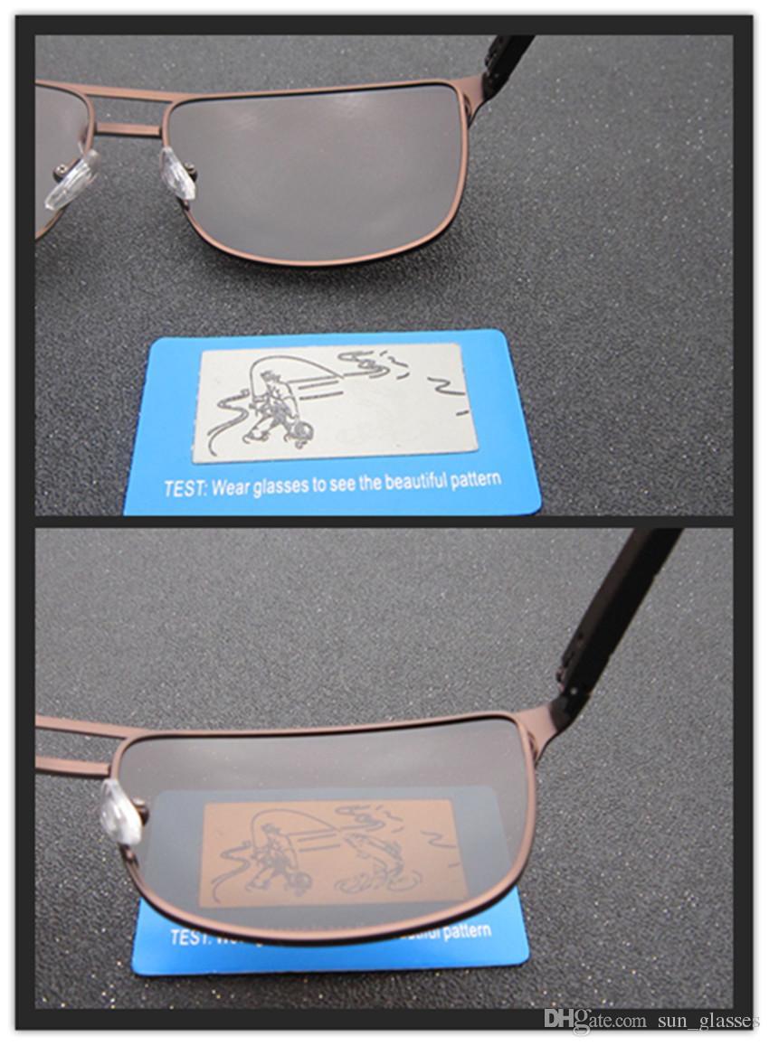 Men/'s Photochromic Sunglasses with Polarized Lens 100/% UV For Outdoor f7