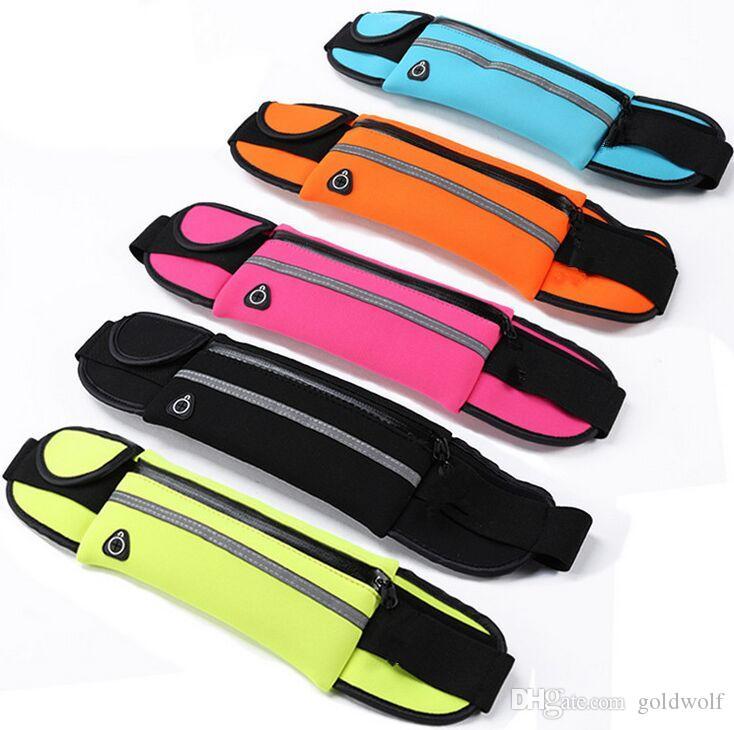 범용 방수 스포츠 실행 허리 포켓 주머니 벨트 케이스 가방 아이폰 XS X 8 7 Plus 6 6S 5 5S 삼성 S7 가장자리 S6