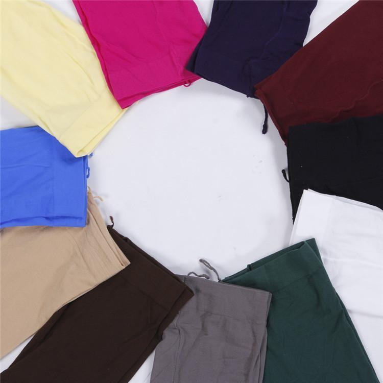 إمرأة جديد سليم الأزياء متعدد الألوان جوارب طويلة اللباس الداخلي