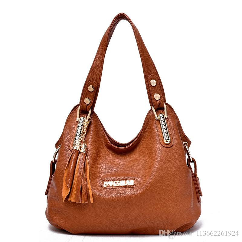 930f3c156c6 Soft Black Leather Bags Women'S Handbags Ladies Hand Purse Online Shopping  Women'S Handbags And Purses Small Handbags For Women Canada 2019 From ...