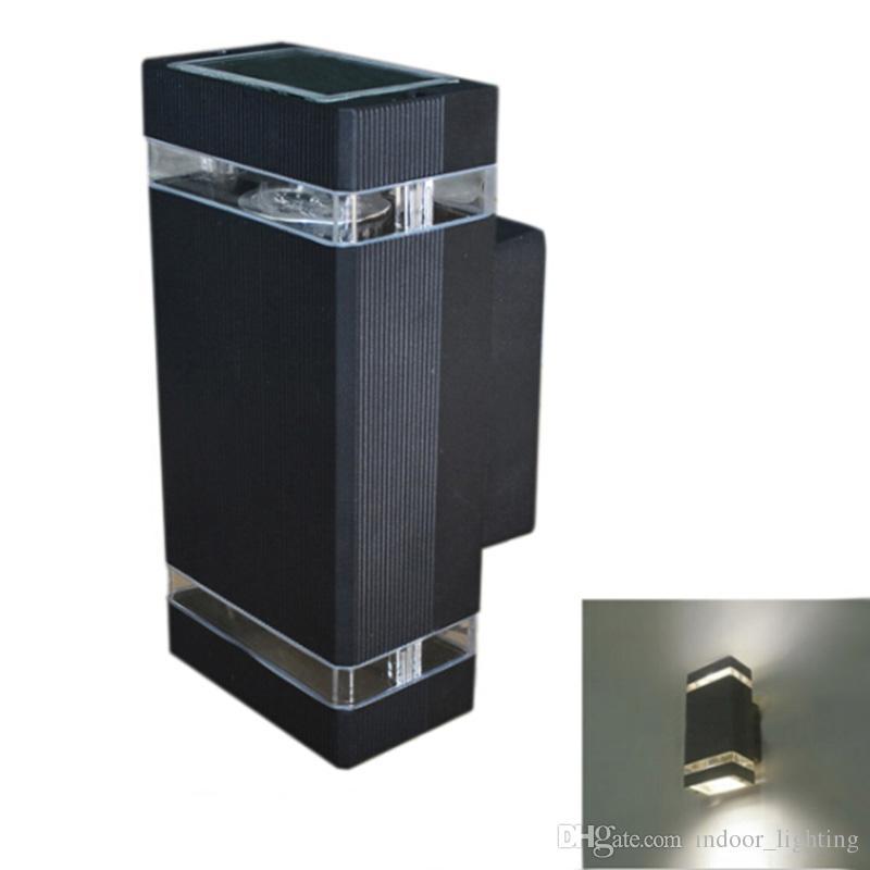 2 stks / partij DHL Moderne LED Wandlamp 85-265 V Muurbevestiging Licht Nachtkastje Woonkamer Decoratie Design Light