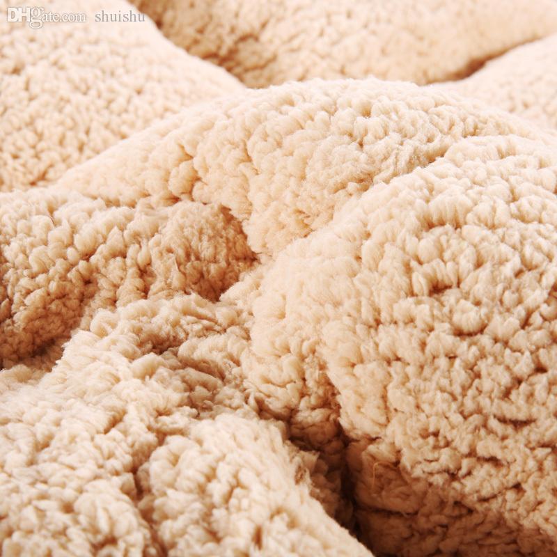 Groothandel gratis verzending, extra warme winter patchwork Trooster 2.0-4.0kg Winter Quilt voor Home.vcm803