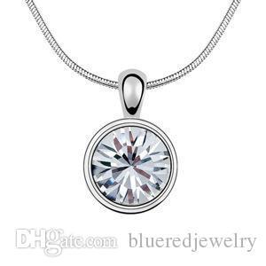 Austrian crystal necklace - Diamond Candy-colours