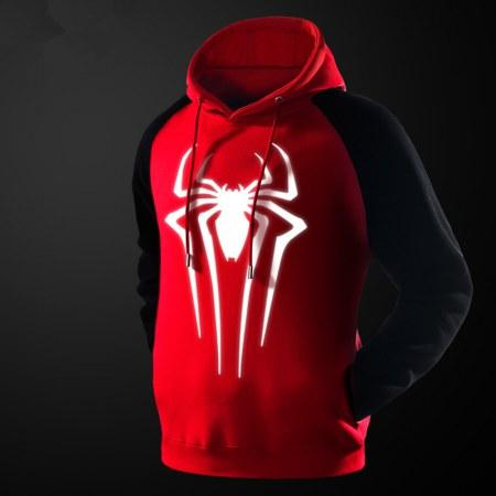 2019 Casual Men'S Glow In The Dark Spiderman Sweatshirt Superhero Pullover Hoodies For Young Teenagers From Amyshop9, &Price; | DHgate.Com