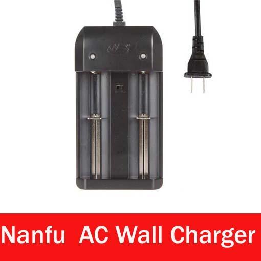 Caricatore doppio di alta qualità Nanfu All-in-One dual-slot caricabatteria 32650 32600 26650 18650 Caricabatterie V Li-ion Auto Stop 3.6 ricarica