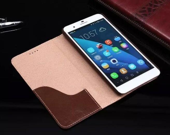 Новое Прибытие Для Huawei Honor6 Plus Case Роскошные Флип Бумажник Красочные Оригинальный Милый Тонкий Чехол Из Натуральной Кожи Case Для Huawei Honor 6 Plus