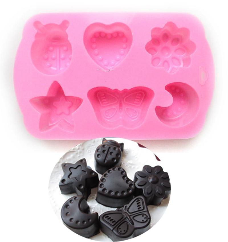 Stampo sapone al cioccolato farfalla Stampo torta al silicone cuore Bee candy dessert arredamento cucina utensili da cucina bakeware