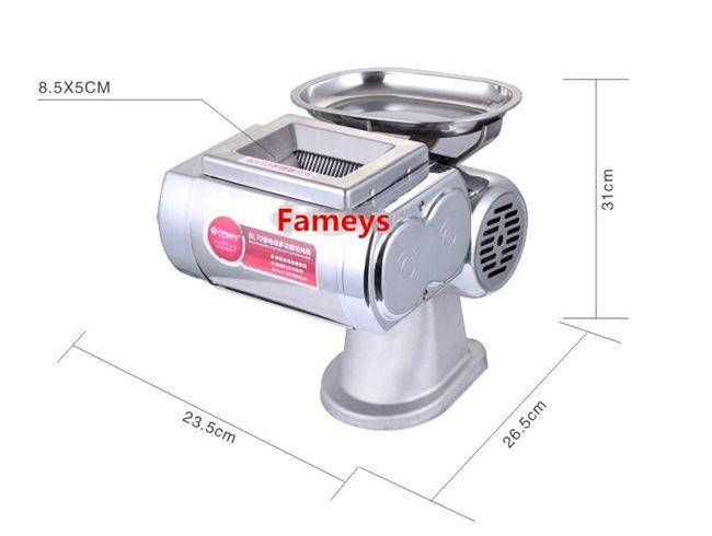 قطاعة اللحوم الصغيرة الجديدة، آلة قطع اللحوم، قطع اللحوم، المستخدمة على نطاق واسع في المطعم