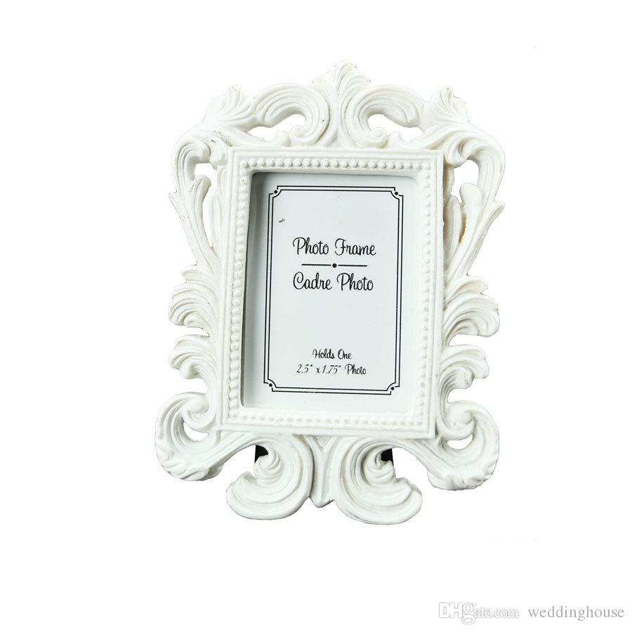 FEIS wholesale(white,black) Baroque photo picture frame Wedding Place Card Holder Engagement Favors Gift Party Accessory Decoration Supplies