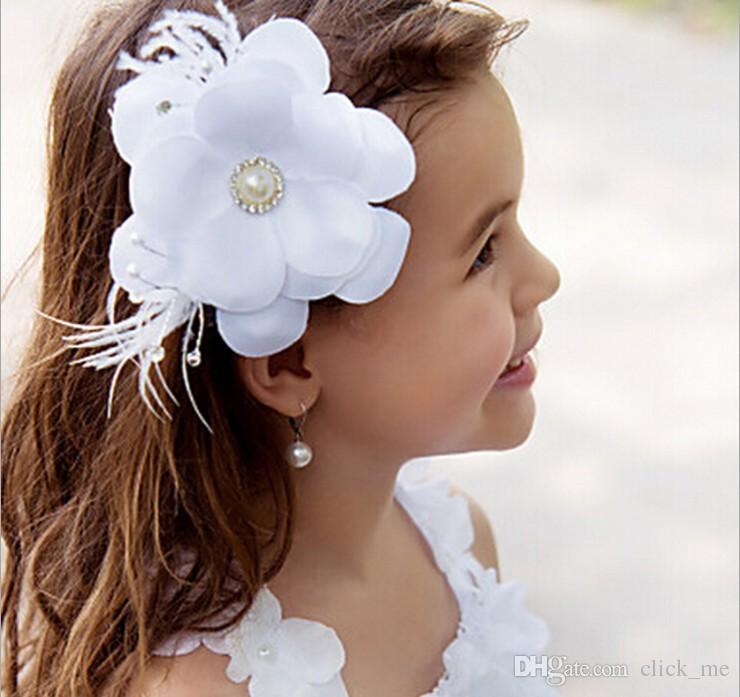 New Flower Girl Hair Accessories Children Tiaras Fashion Hair Flowers  Wedding Dress Accessories Girls Cute Flower Princess Headwear Floral  Headpieces ...