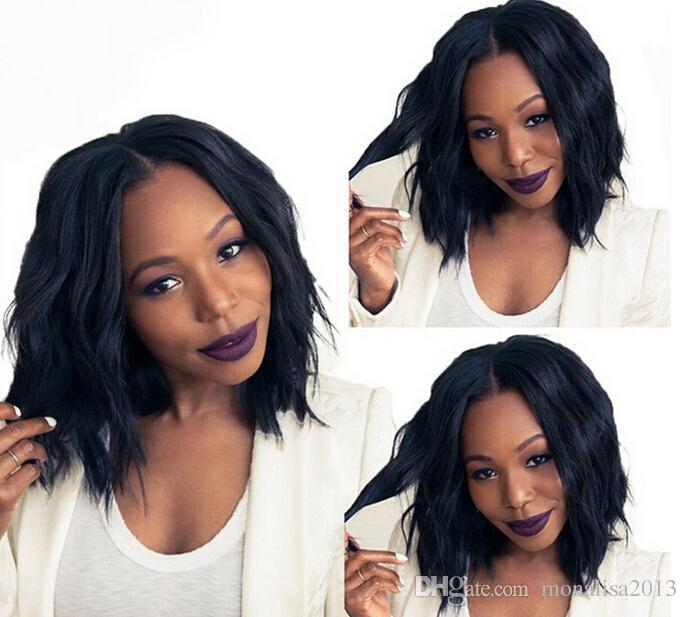 Human Hair Short Wigs For Black Women Brazilian Virgin Hair Lace Front Wigs Glueless Full Lace Human Hair Wigs With Baby Hair