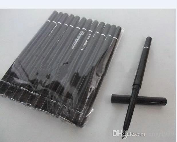 12 PC / un sacco di pennarelli per la bellezza dell'estetica nera e marrone scalabile
