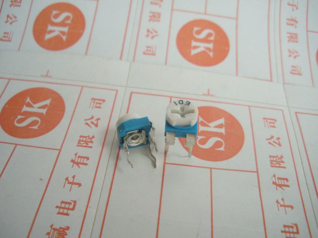Small adjustable potentiometer 06 regulation-resis...