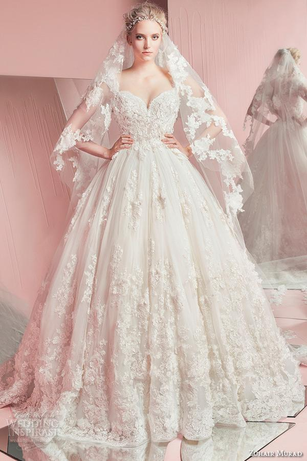 2016 zuhair murad wedding dresses plus size wedding gowns scoop ...