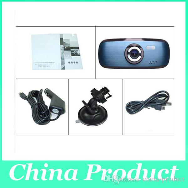 10pcs/lot newest Wholesale 720P H200 G1W Car DVR Camera Recorder camcorder car dvrs Dashboard Dash cam Black Box 002779