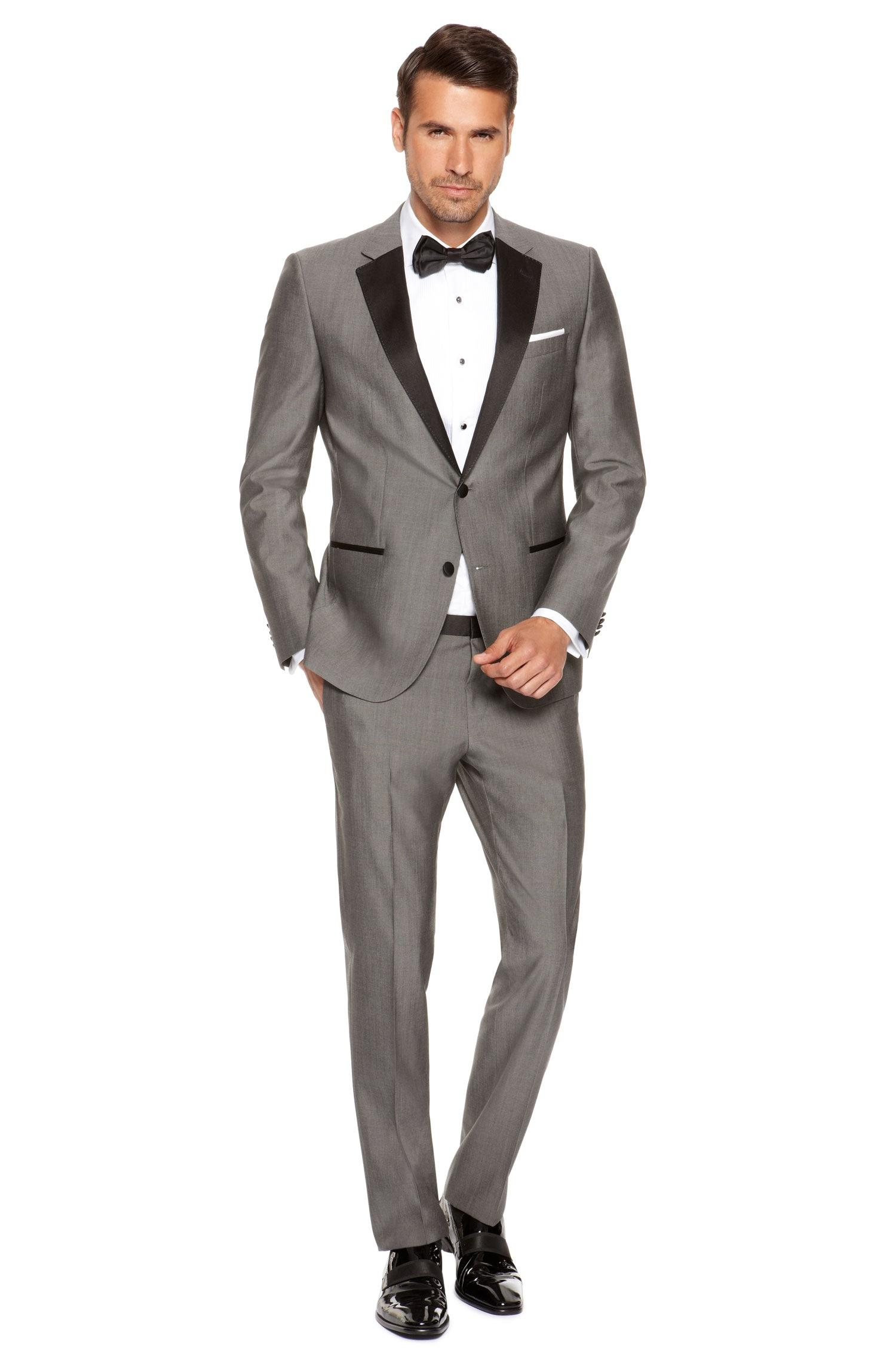 2015 hot styles cheap in stock wedding suits for men formal suit - Smoking Hugo Boss Mariage