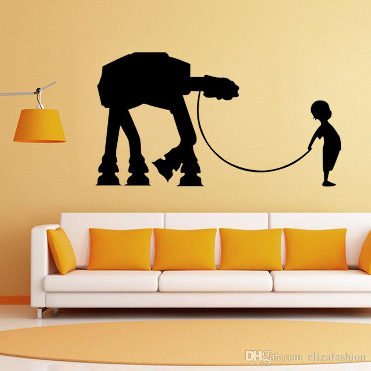 Star Wars Wall Decal Vinyl Sticker Boys Bedroom Wall Decor Star Wars ...