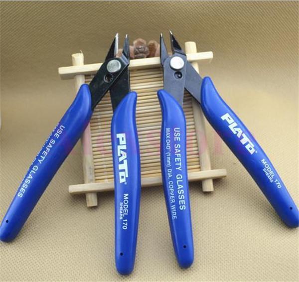 Plato 170 Flush Cutter Wire Cutter Nipper Mini Plier Clamp Cutting Shears Tool For DIY RDA heating coil wick Tank Atomizer E cigarette