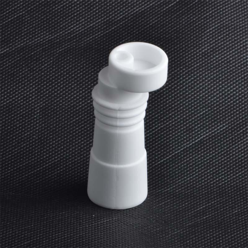 Chiodi in ceramica senza chiodo da 14mm 18mm con giuntura in vetro femminile maschio Chiodo in ceramica con chiodo in ceramica con tappo in carboidrati VS Chiodo in titanio GR2