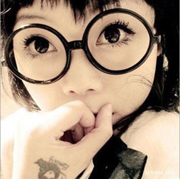 Glasses Eyeglasses Super Girls Fashion Sunglasses Frame Lovely Frame Lenses And Light 0006GLS-100 Glasses Muti-color Wholesale Without Qqbg