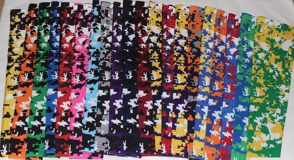 Оптового нового цифрового Camo Р.М. рукава Royal Blue Футбол Баскетбол Бейсбол молодежь и взрослые 138 цветы 7 размеров в наличии