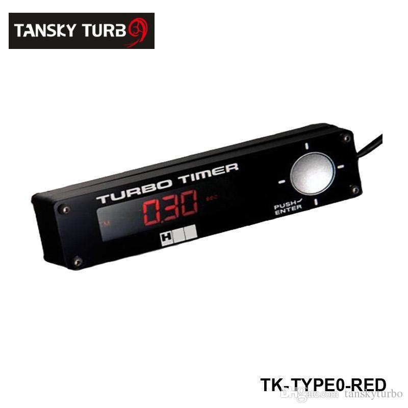 TANSKY - Coche de carreras Turbo Timer Electrónica Tecnología Azul / Rojo / Blanco Para Skyline WRX STI Evo Para Honda Civic Para Audi A4 TK-TYPE0