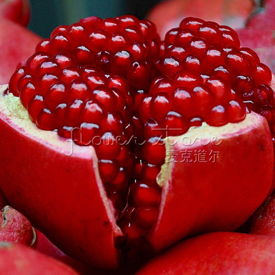 20 шт. / Пакет Гигантские семена граната домашнее растение Вкусные фруктовые семена очень большие и сладкие для домашнего садового растения
