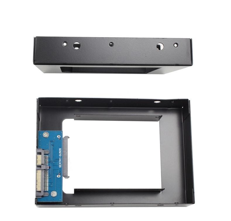 2.5 إلى 3.5 SATA SSD HDD محول العلبة القرص الصلب العلبة