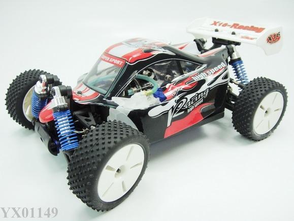 1:16 Rc Truck Nitro Gas Gp 05 Engine 4wd Racing Mini Buggy Car Rtr